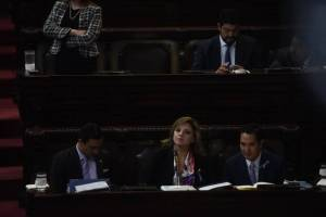interpelación a la canciller Sandra Jovel