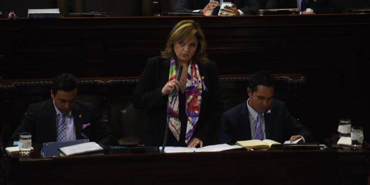 Diputados interpelan a la canciller Sandra Jovel