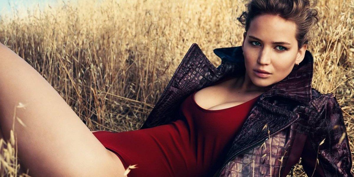 Tengo fobia al sexo ya dar la mano — Jennifer Lawrence