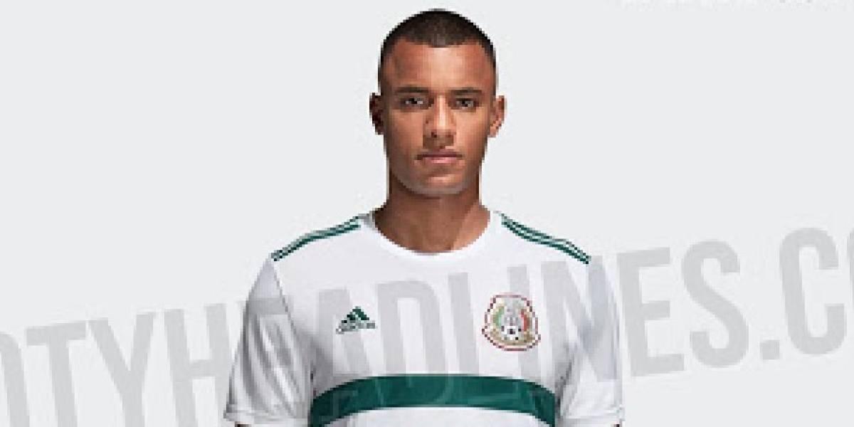 Selección Mexicana filtran jersey de visitante del Tri para Mundial ... 715b3bf00fac3