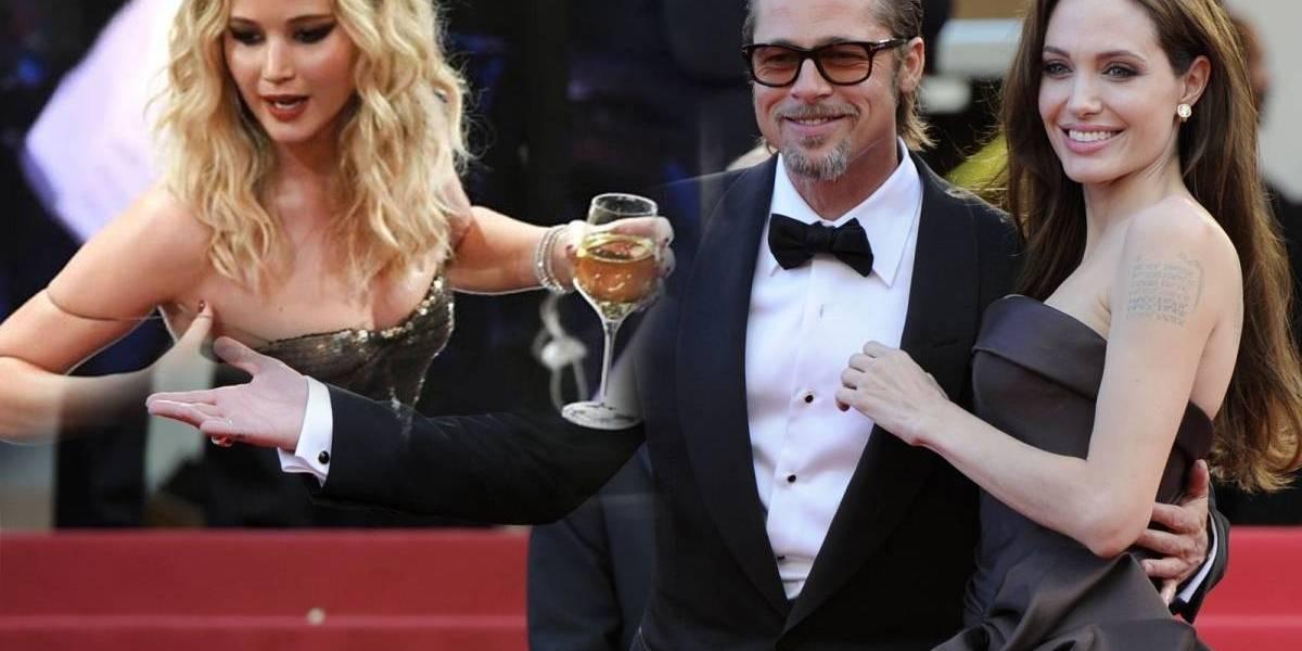 ¿Fue Jennifer Lawrence la responsable de separar a Brad Pitt de Angelina?