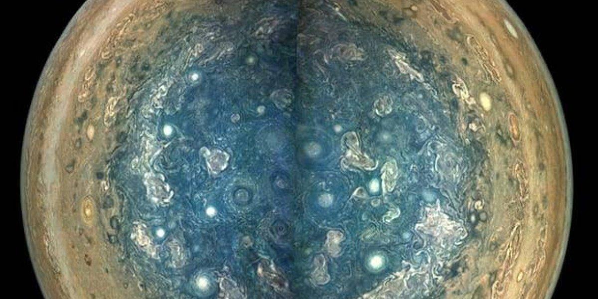 Juno captura con precisión y detalles el interior de Júpiter