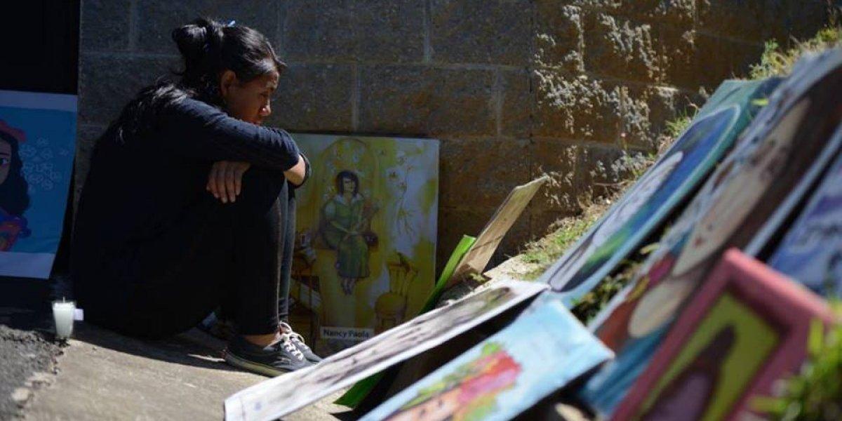 Las conmovedoras imágenes de los homenajes en sede del Hogar Seguro Virgen de la Asunción