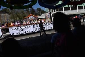 manifestación Hogar Seguro