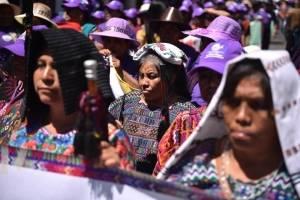 marcha por el Día de la Mujer - 8 de marzo