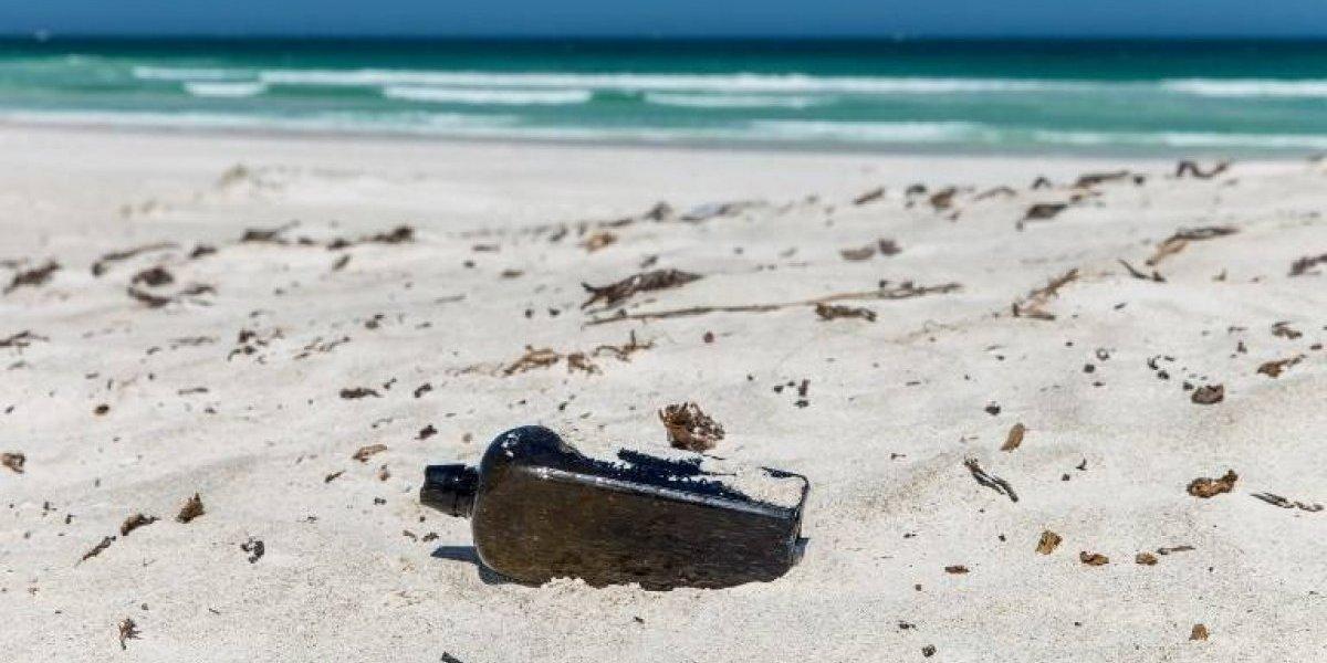 El mensaje embotellado más antiguo fue descubierto en Australia