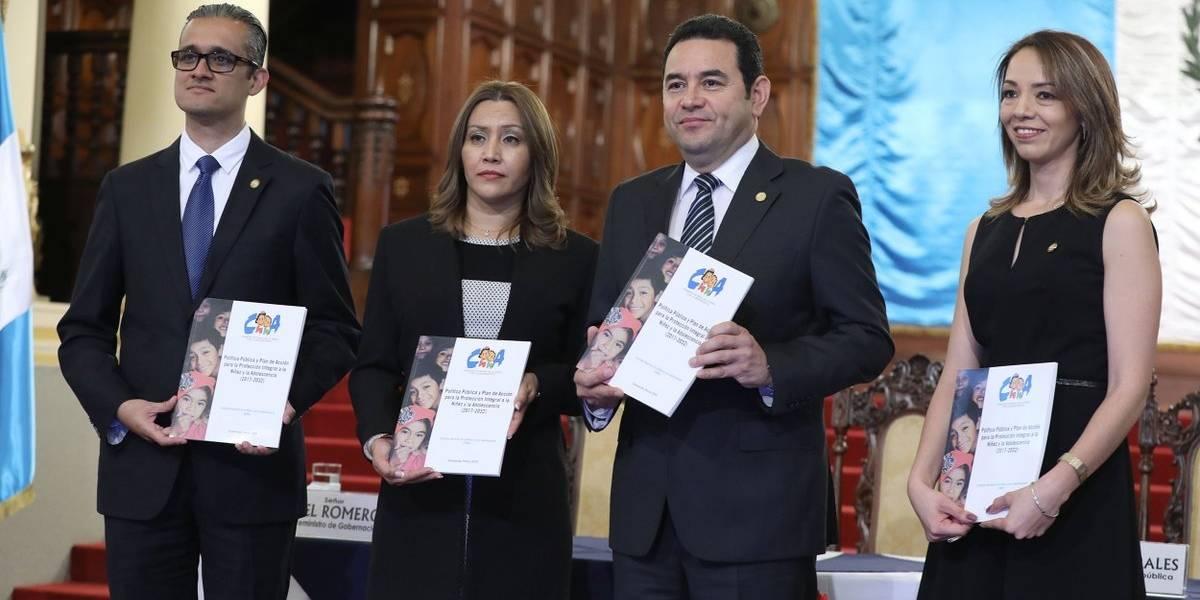 Ejecutivo presenta Política de Protección a la Niñez y Adolescencia