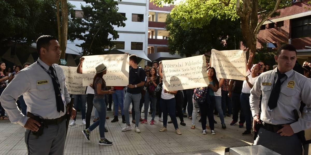 Profesores levantan el paro en la Universidad Autónoma del Caribe en Barranquilla