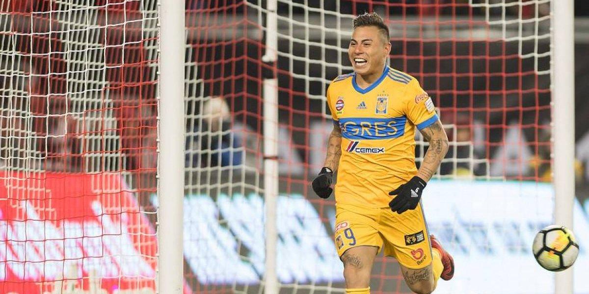 Eduardo Vargas convirtió en derrota de Tigres en la Concachampions