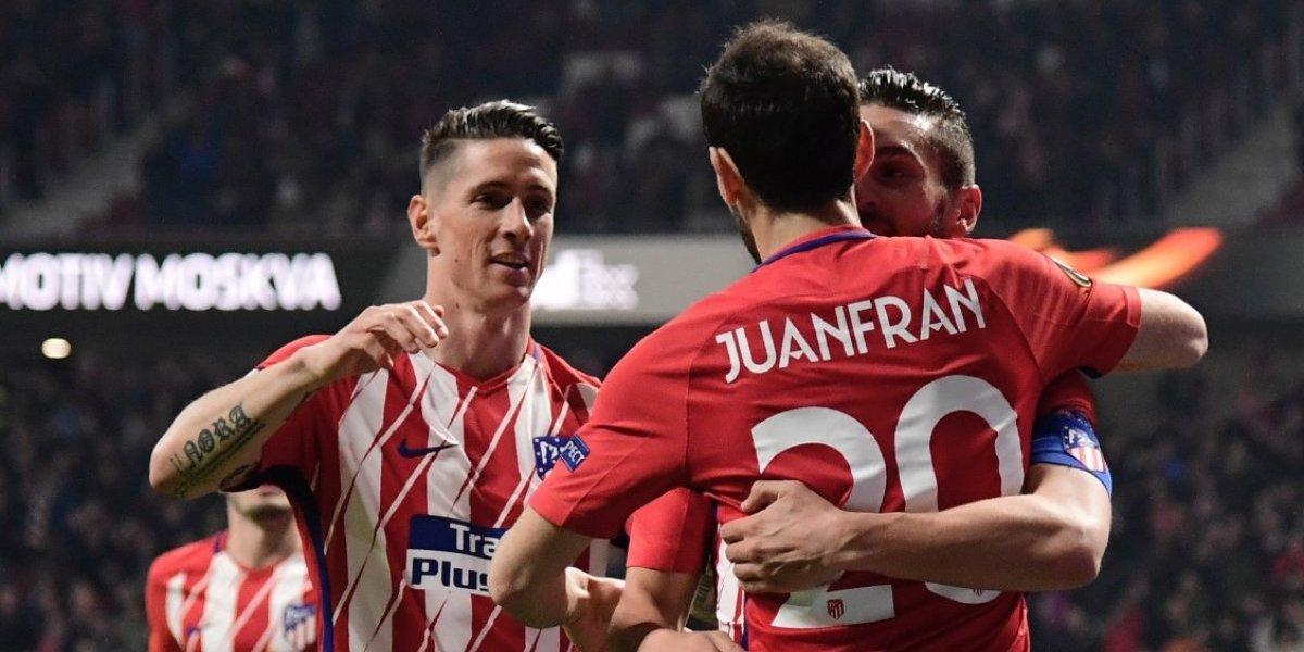 Atlético de Madrid se acerca a los cuartos de final de la Europa League