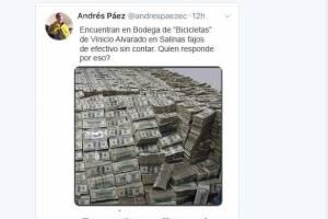 Andrés Páez denuncia tuit falso sobre Vinicio Alvarado