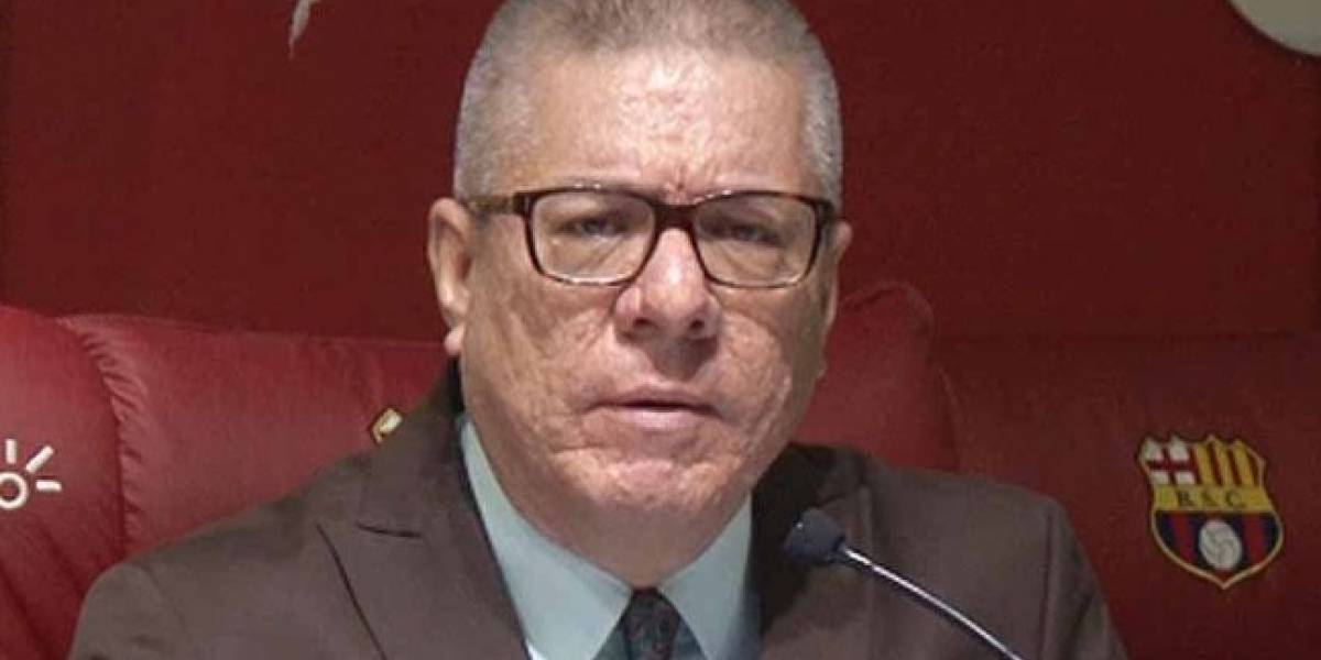 Vito Muñoz envía fuerte mensaje a José Francisco Cevallos, presidente de Barcelona SC
