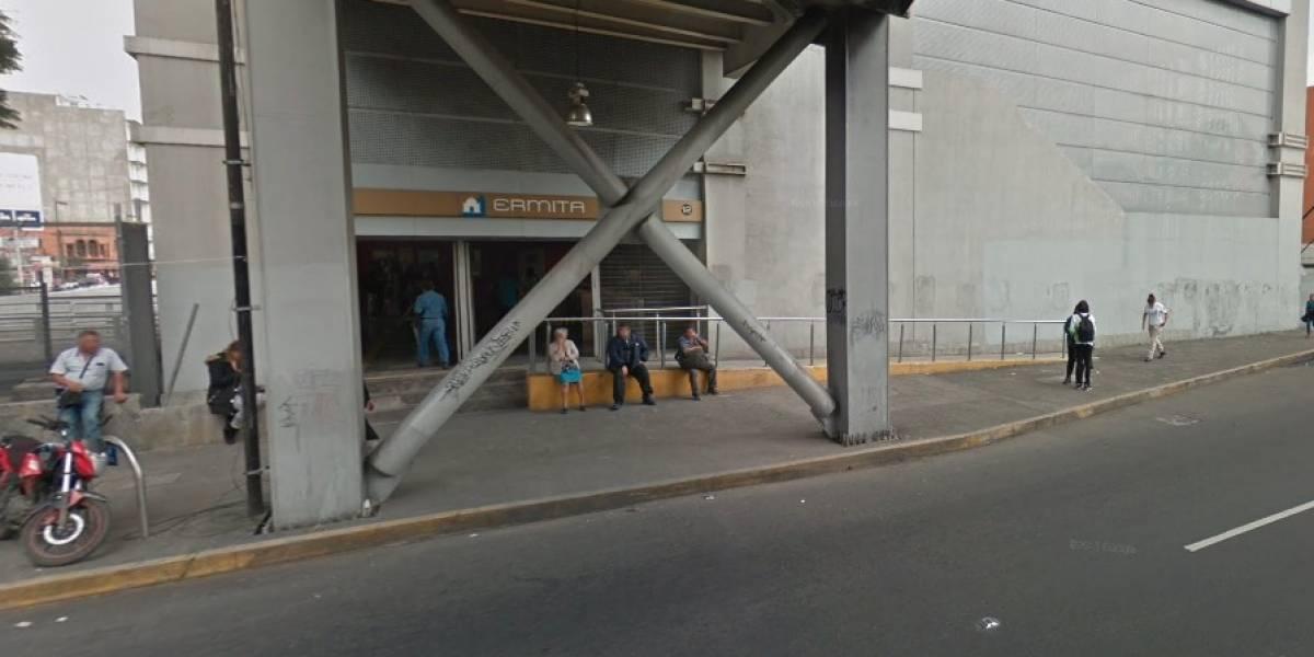 Detienen a presunto acosador en la estación Ermita del Metro