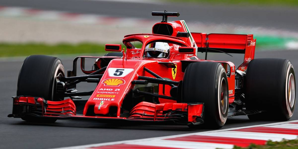 Vettel volta a liderar testes da F-1 em dia de surpresas em Barcelona