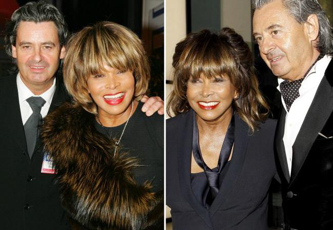 Tina Turner y Erwin Bach