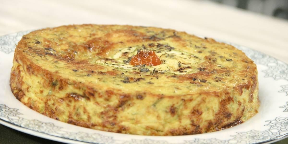 Torta vegetariana de abobrinha