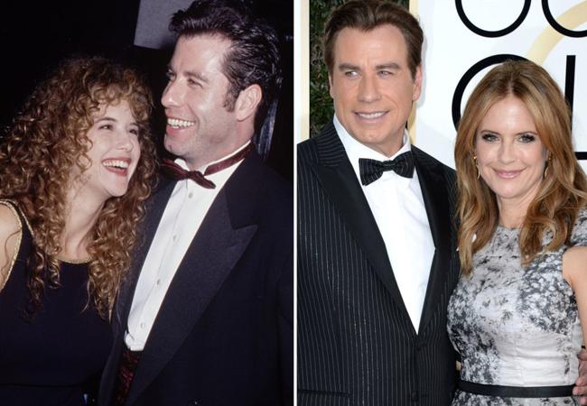 John Travolta y Kelley Preston