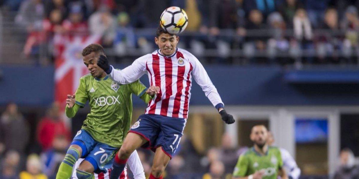 Chivas regresa con desventaja de Seattle