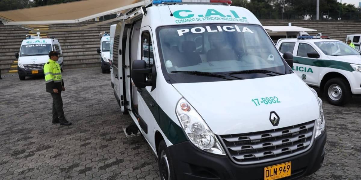Presunto conductor borracho se estrelló con el laboratorio móvil de la Policía