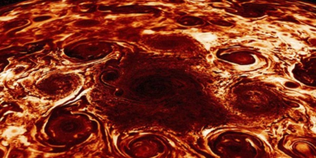 La NASA revela nuevos hallazgos de misión espacial en Júpiter