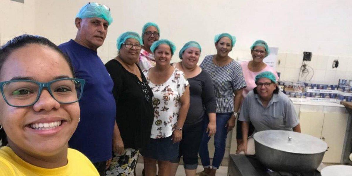 Iglesia agradece con almuerzo a quienes energizaron sector en Canóvanas