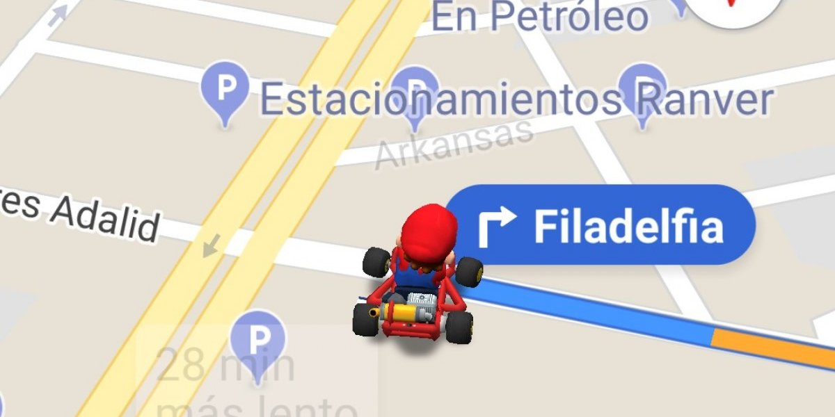 Cómo poner a Mario Bros en el navegador de Google Maps