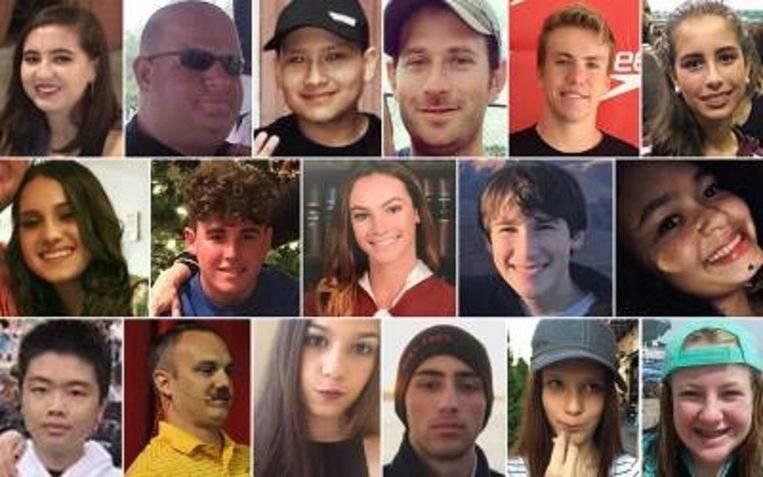 Víctimas atentado en Florida