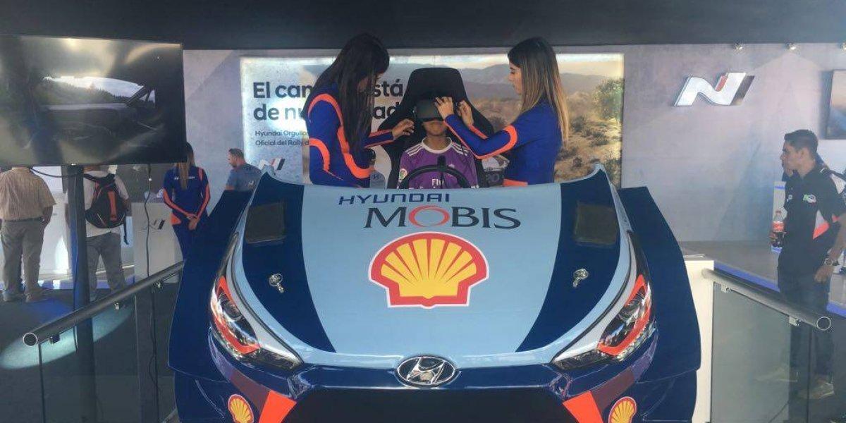 El color del Rally Méxicocalienta los motores
