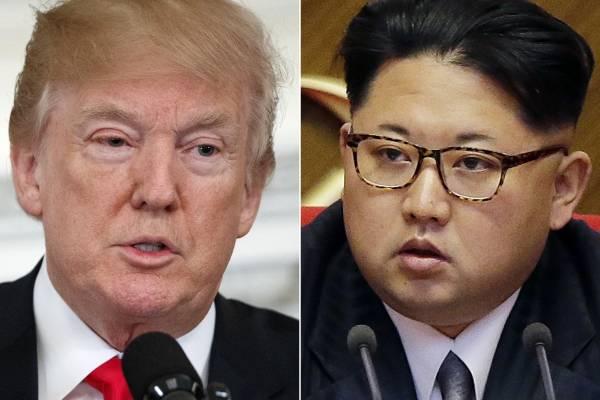 Trump Kim Jong-un