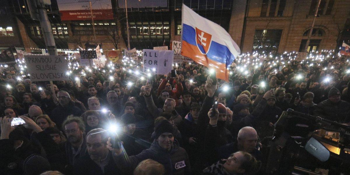 Asesinato de un periodista hunde a Eslovaquia en profunda crisis política