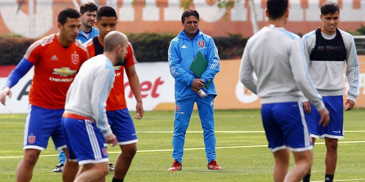 Hoyos piensa en una sorpresa para el debut de la U en Libertadores frente a Vasco