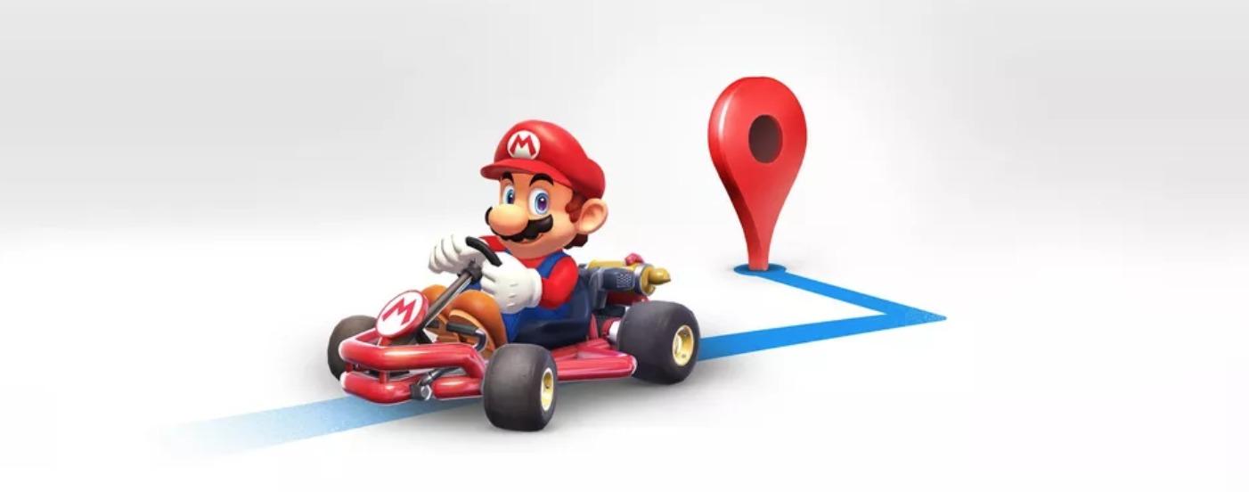 Mario Bros llega a Google Maps y te acompañará en tus viajes durante una semana