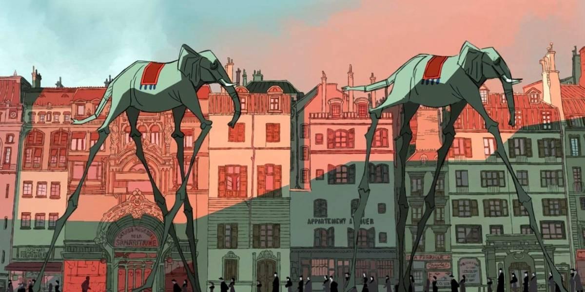 García Márquez y Luis Buñuel, celebrados en el Cartoon Movie de Burdeos