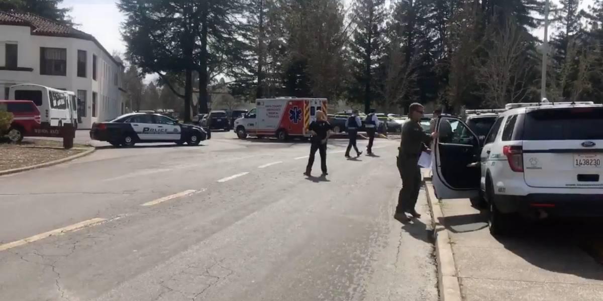 Tiroteo en hogar de veteranos de California: responsable se encuentra parapetado con rehenes