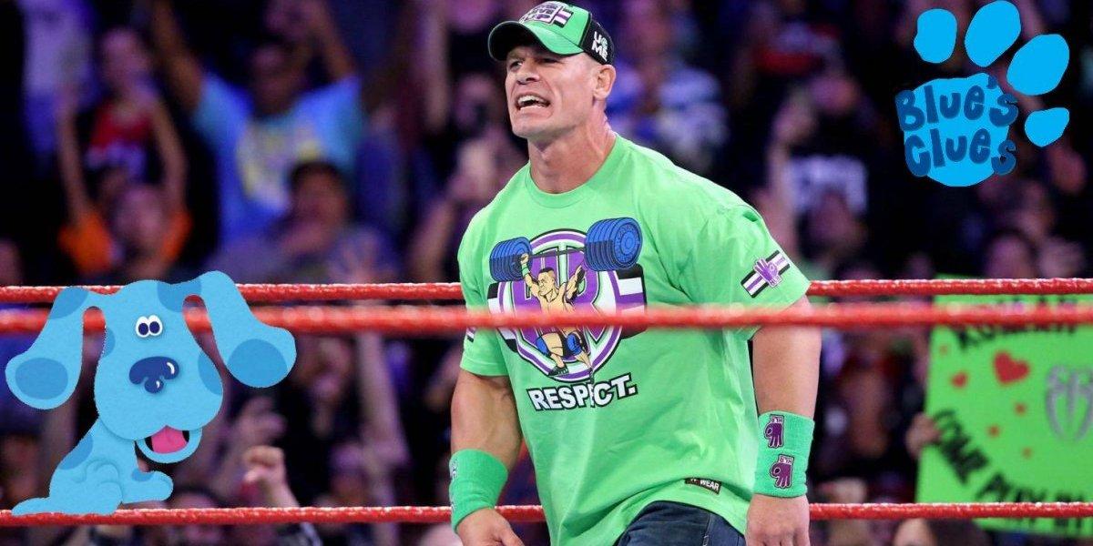 John Cena audiciona para ser el nuevo 'Steve' de 'Las Pistas de Blue'