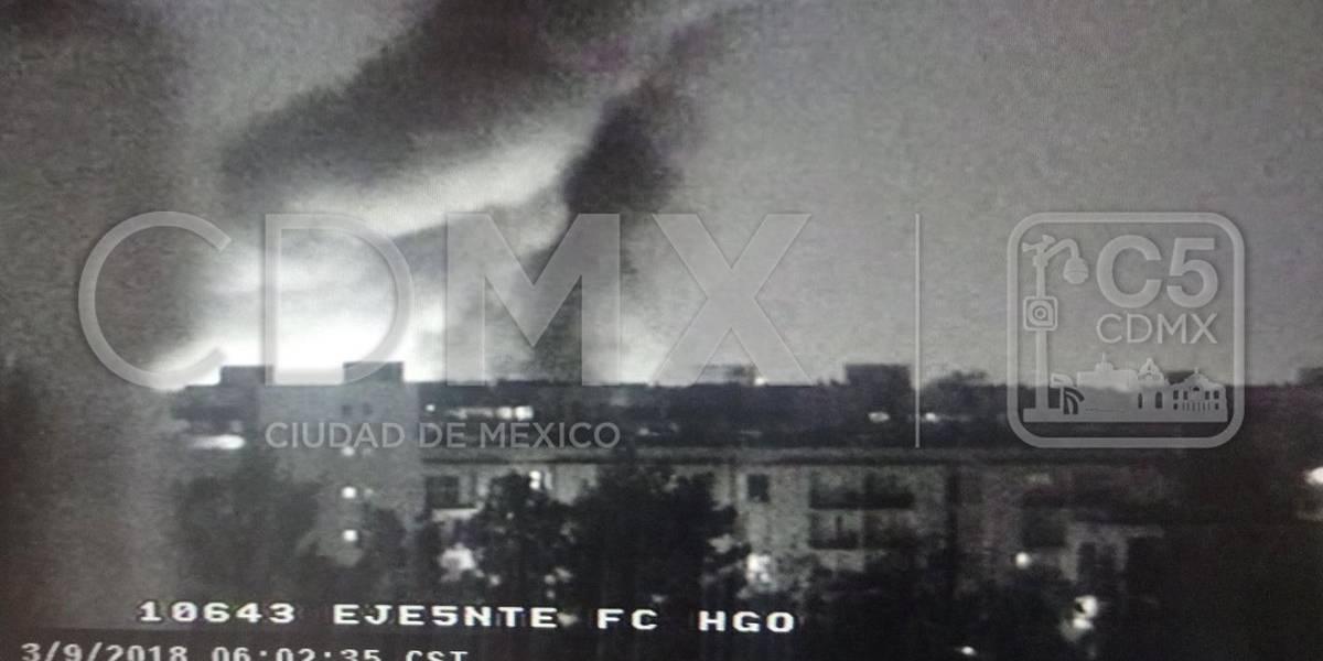 Controlan incendios en GAM y Cuauhtémoc