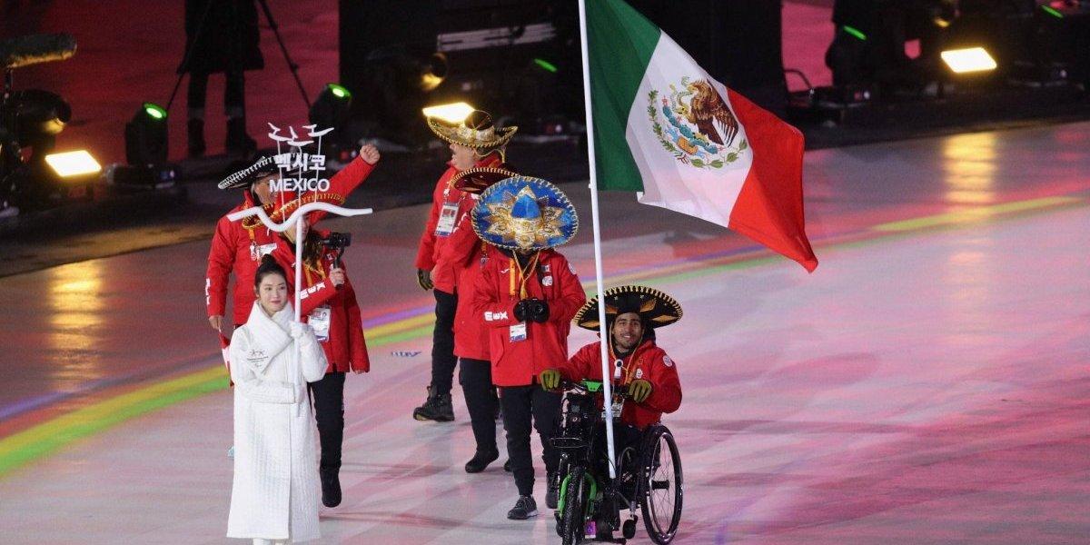México brilló en la inauguración de los Juegos Paralímpicos PyeongChang