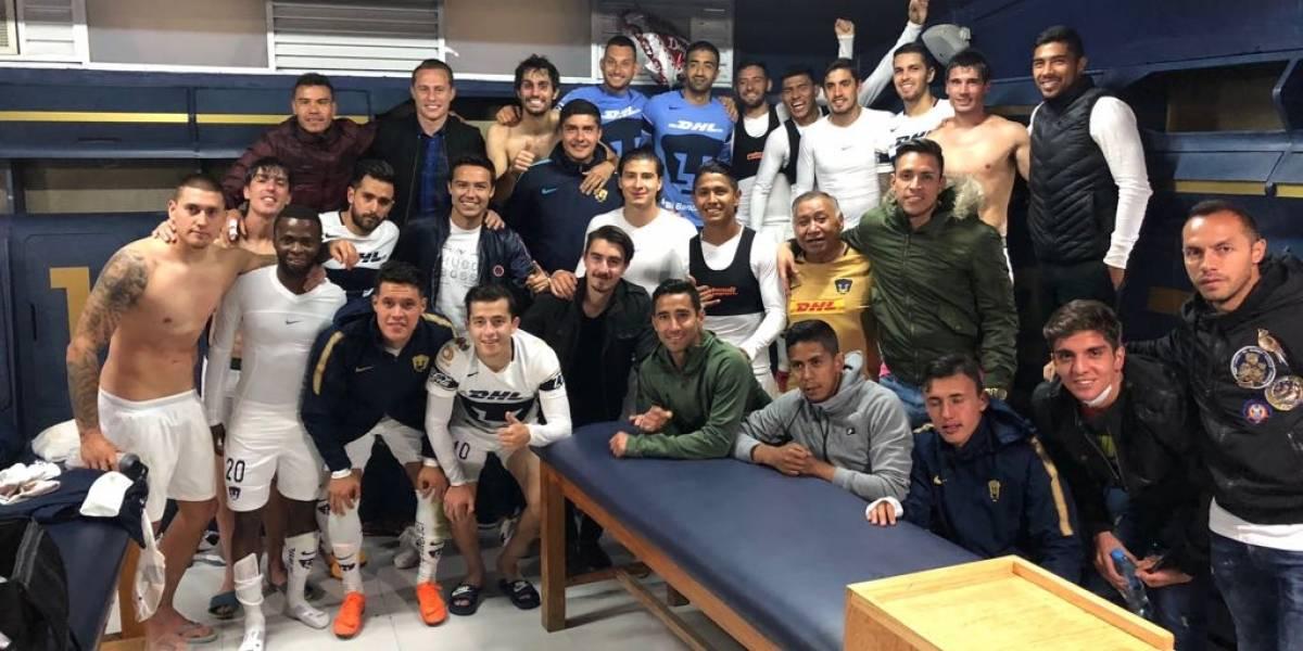 Pumas clasificó con goleada en la Copa MX y en cuartos enfrentará al Necaxa de los chilenos