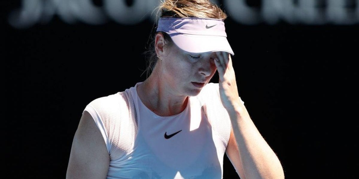 ¡Ruptura! Sharapova toma drástica decisión tras la mala racha que atraviesa