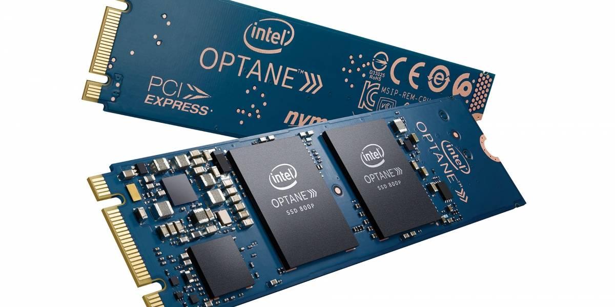 Intel anuncia su SSD Optane 800P
