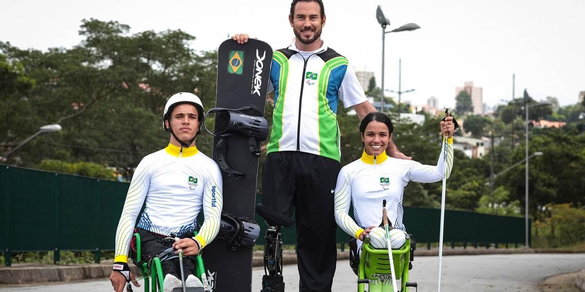 Paralimpíadas de Inverno: conheça os esquiadores que vão representar o Brasil