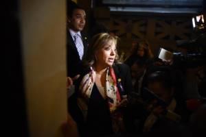 Sandra Jovel en el Congreso