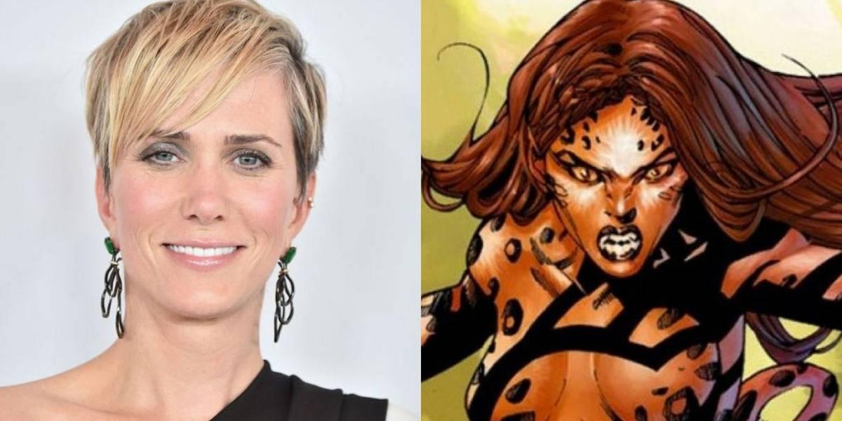 Mulher-Maravilha 2: Diretora confirma que Kristen Wiig será a vilã Cheetah