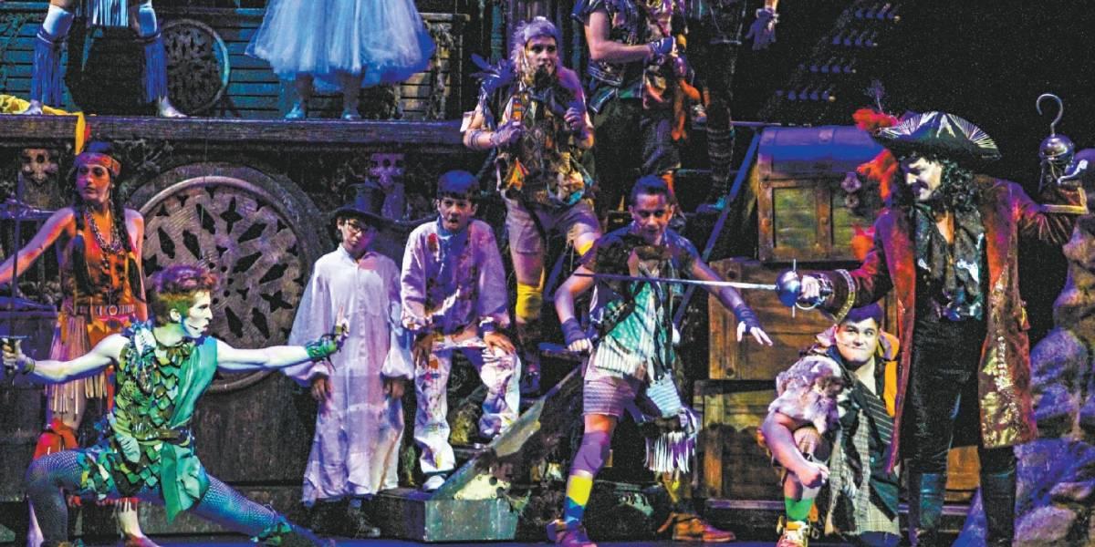 Musical do Peter Pan chega a São Paulo e aposta em voo e magia