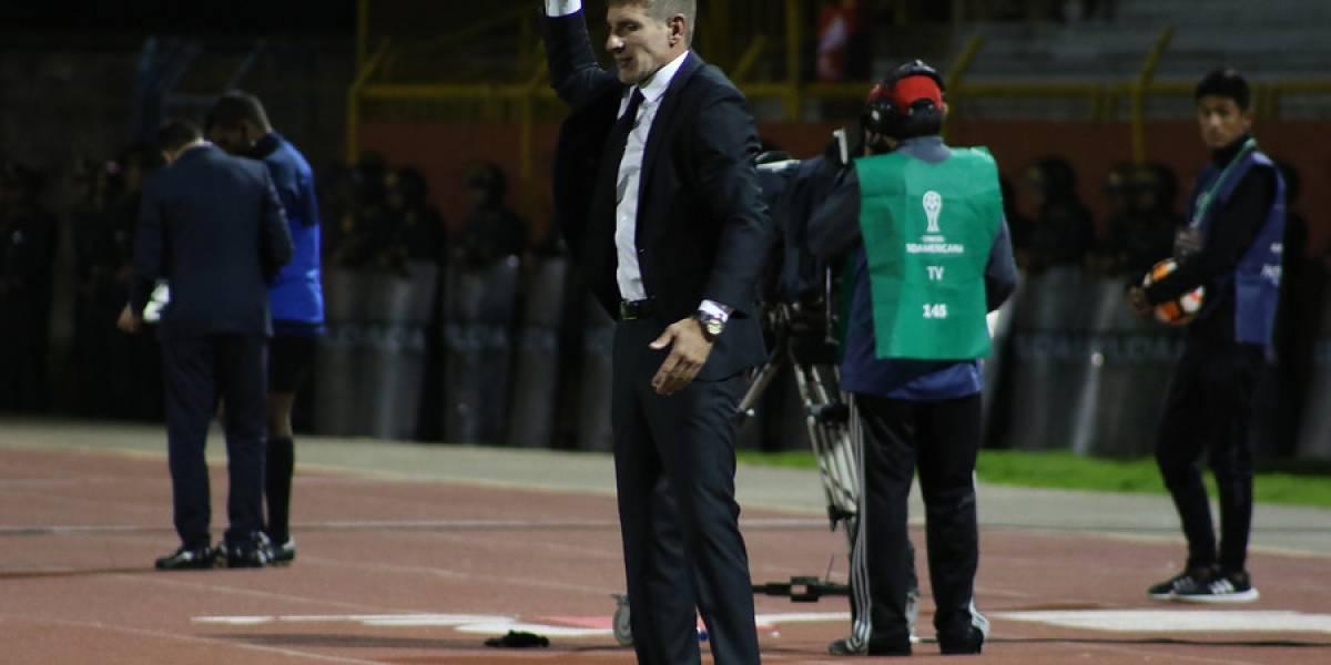 """La autocrítica de Martín Palermo tras dura eliminación de la Copa Sudamericana: """"Nos vimos superados"""""""