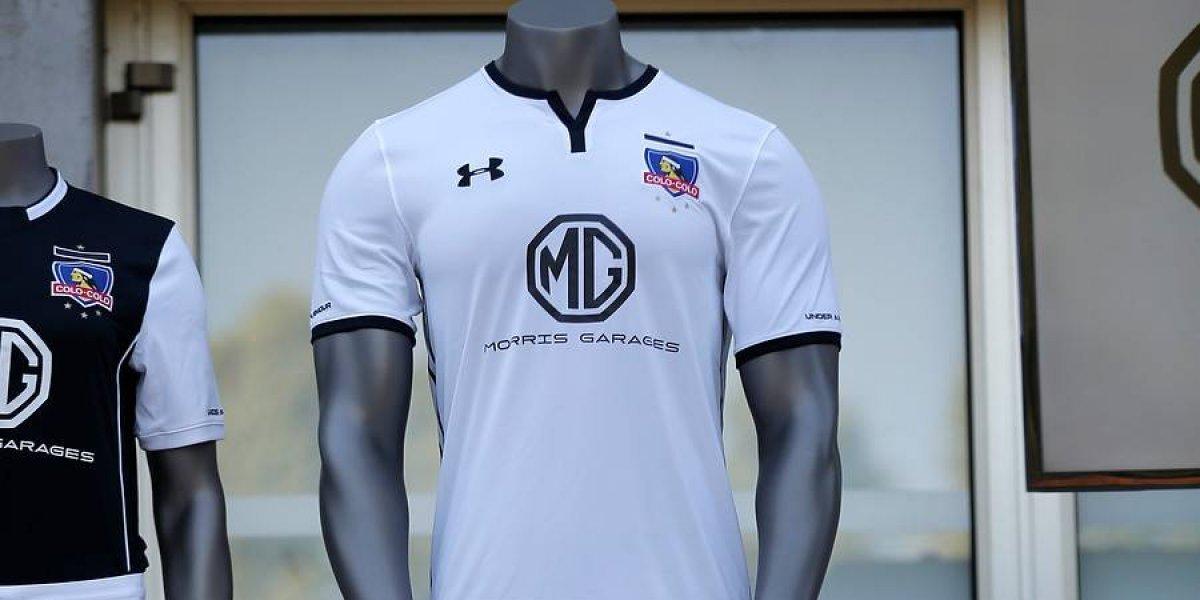 Colo Colo estrenará nuevo auspiciador en la camiseta para el partido con Bolívar