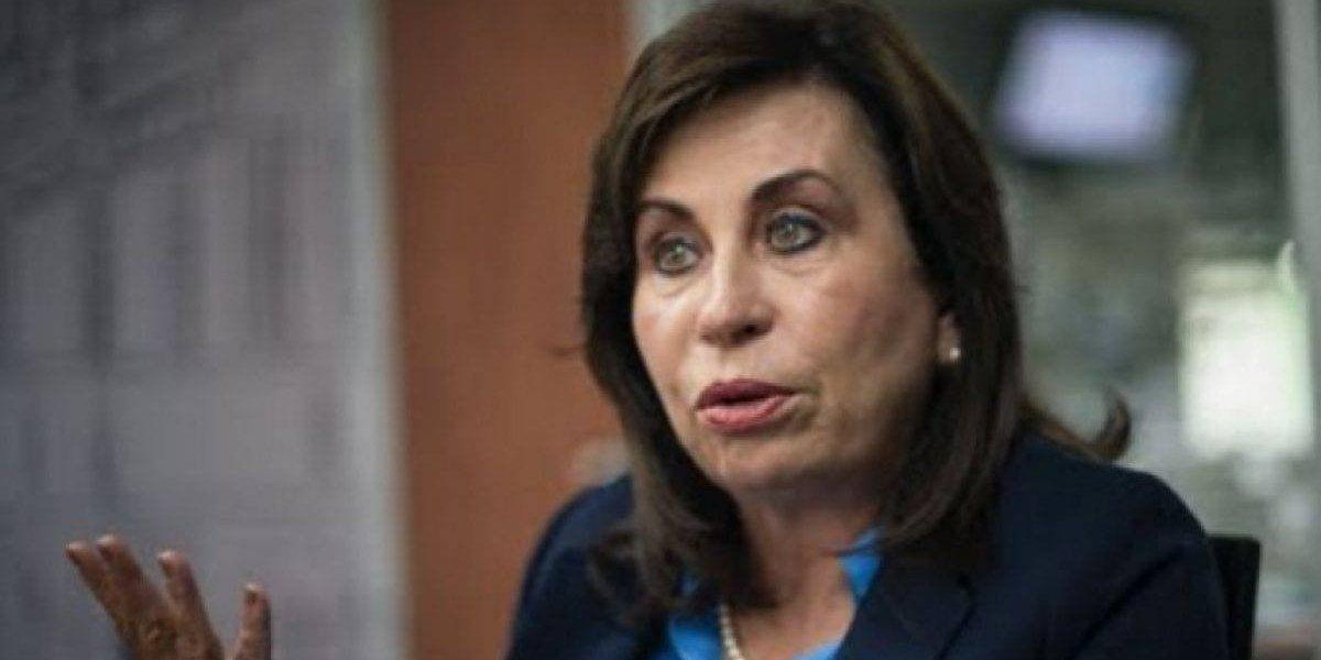 """Sandra Torres señala que es víctima de """"linchamiento mediático"""" por caso Transurbano"""