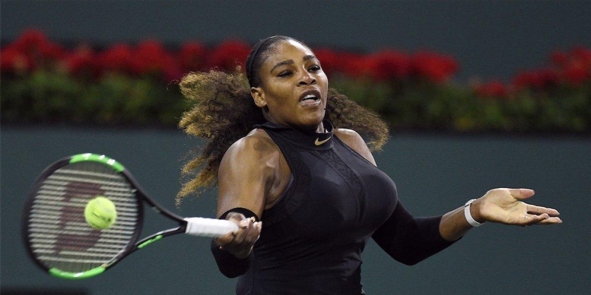 Serena Williams regresa con triunfo tras un año fuera de la alta competición