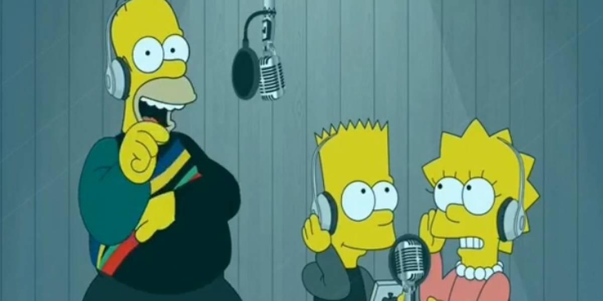 Así suena Dura en la voz de Homero, Bart y Lisa Simpson