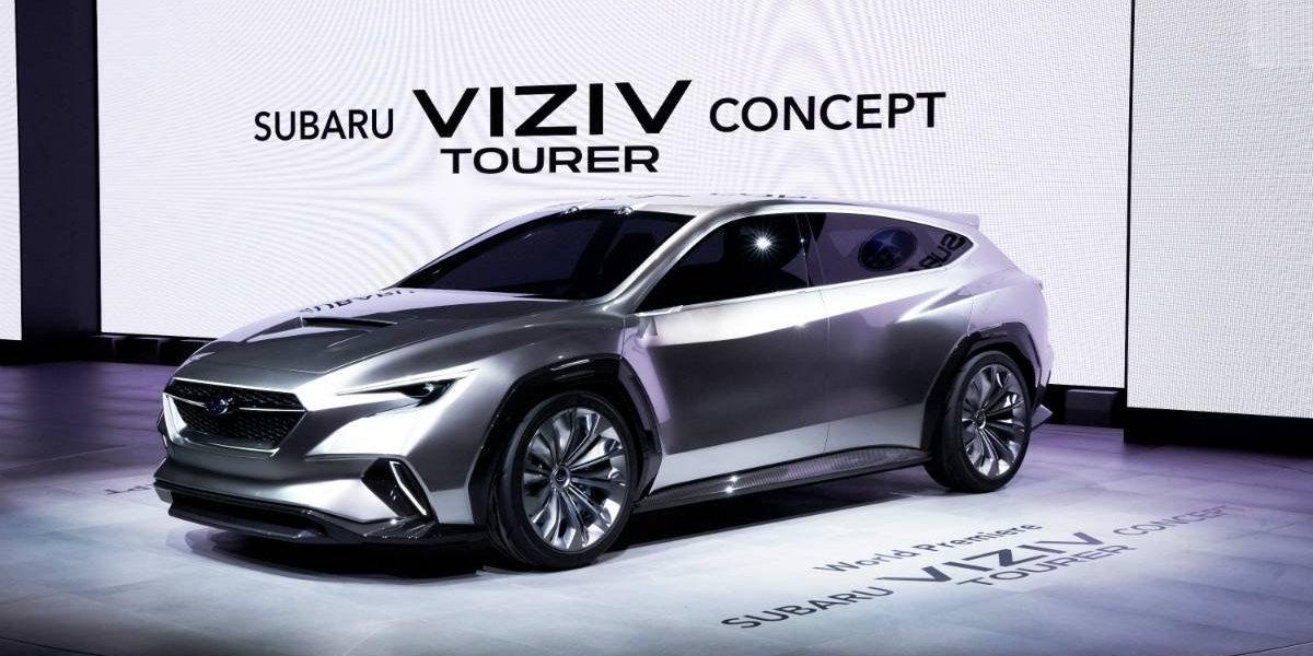 VIZIV Tourer Concept, la apuesta de Subaru en Ginebra